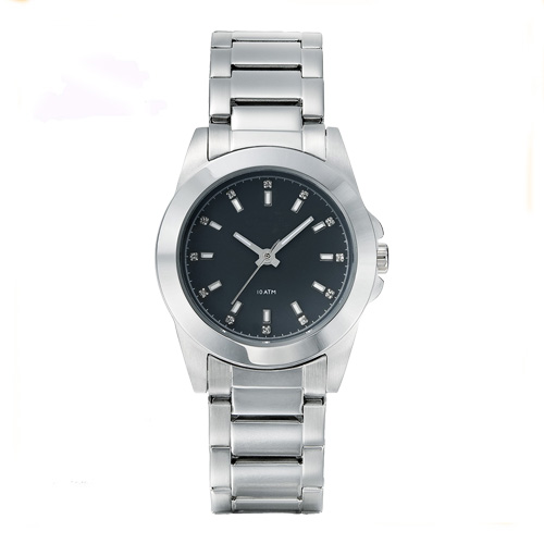 Stainless steel band ladies quartz watches