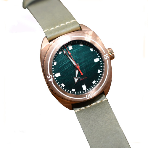 CuSn8 bronze dive watches