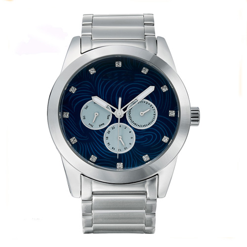 Water Resistant Solid Band Quartz Watches Men Timepieces Stainless Steel - 副本