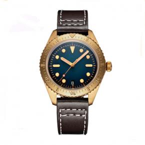 Aluminum bronze automatic wristwatches