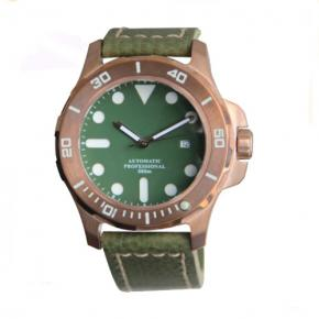 Automatic CuSn8 bronze watches