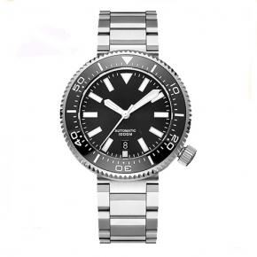 Stainless steel deep dive watches