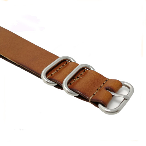 Nato genuine leather strap
